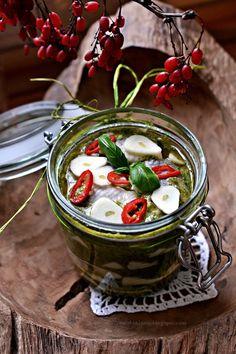 Smaki Alzacji : Śledzie bazyliowe
