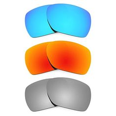 dfac6ba61b Revant Replacement Lenses for Oakley Deviation 3 Pair Combo Pack    Check  this awesome product by going to the link at the image.