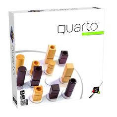 Gigamic Quarto Strategy Board Game 2 Player 1991 Wooden for sale online Bazar Bizarre, Board Game Shelf, Final Fantasy Xi, Wood Games, Outdoor Games For Kids, Thing 1, Summer Games, Strategy Games, Brain Teasers