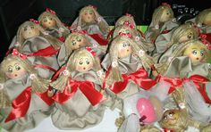 Le vezzose:bamboline portaconfetti per la laurea