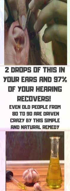 2 Drops of This In Your Ears and of Your Hearing Recovers! Even Old People From 80 to 90 Are Driven Crazy by This Simple and Natural Remedy - Solutions For Healthy Life Health Tips For Women, Health Advice, Health And Beauty, Health And Wellness, Health Fitness, Health Care, Health Diet, Kidney Health, Wellness Quotes
