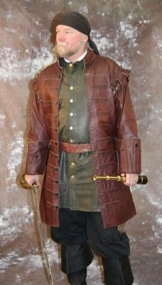 Privateer Coat #ravenswoodleather