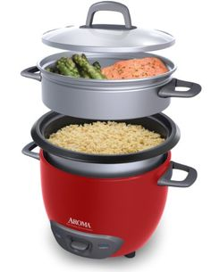 Make your whole meal with one appliance!  rice cooker