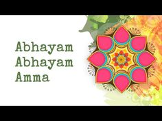 Abhayam Abhayam is a beautiful bhajan sung by Bhanumati Narsimhan (Bhanu Didi). Listening to bhajans during Navratri is very auspicious and can help quiet the mind and open the heart to the divine.