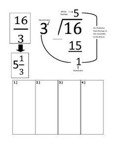fraction mixed number worksheet classroom ideas for 3rd grade pinterest number worksheets. Black Bedroom Furniture Sets. Home Design Ideas