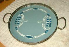 Vtg Villeroy Boch Dresden Saxony Porcelain Platter Tray (03/15/2011)