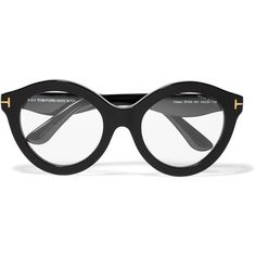 d4267370a1 Tom Ford D-frame acetate optical glasses (£116) ❤ liked on Polyvore