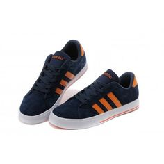 brand new a7aa6 1ca93 hombres mujer Adidas NEO Zapatos SE Daily Vulc Suede Armada naranja Trainers  F39075 GRAN VENTA