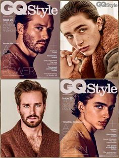 Armie Hammer and Timothee Chalamet