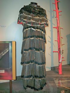 Chickasaw feather dress...