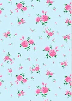 Blue floral candy flowers wallpaper on We Heart It Vintage Flowers Wallpaper, Cute Patterns Wallpaper, Print Wallpaper, Flower Backgrounds, Wallpaper Backgrounds, Iphone Wallpaper, Tiffany Rose, Candy Flowers, Stationery Craft