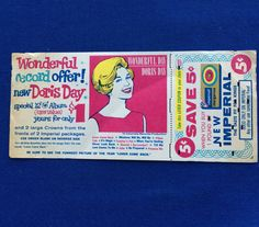 Vintage Doris Day Imperial Margarine Advertising by Trentage