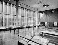 Cincinnati Public Library - Woodie Garber - 1955     Browse All : Architecture by Woodie Garber & Associates, active during 20th century of 800 Vine Street, Cincinnati (Ohio) - Cornell University
