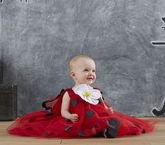 Baby Ladybug Tutu Costume for Halloween from Pottery Barn Kids. - CraikPD.com