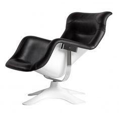 Karuselli lounge chair designed by Yrjö Kukkapuro. Purchase through Scandinavian Design, Inc.