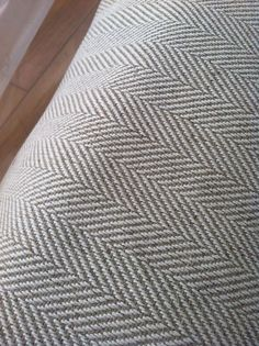 grey herringbone fabric on dining chairs Suit Fabric, Chair Fabric, Cotton Fabric, Furniture Makeover, Diy Furniture, Furniture Refinishing, Herringbone Fabric, Paint Swatches, Texture Design
