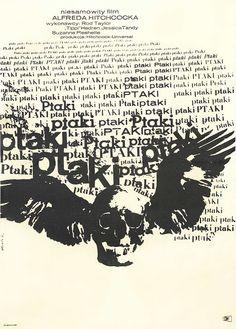 Polska Szkoła Plakatu (Polish School of Posters) PTAKI