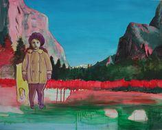 Catherine Knight painting