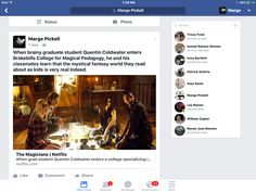 When brainy graduate student Quentin Coldwater enters Brakebills College for Magical Pedagogy, he and his classmates learn that the mystical fantasy world they read about as kids is very real indeed. Photo Search, Netflix Series, Fantasy World, Mystic, College, Student, Learning, Kids, Young Children