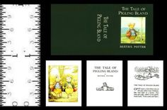 1-12-SCALE-MINIATURE-BOOK-BEATRIX-POTTER-THE-TALE-OF-PIGLING-BLAND