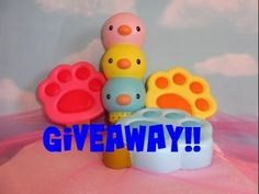 Squishy Giveaway!!  OPEN!  Closing April 30, 2017