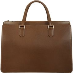 I wish everything in my life was this color leather.  |  Valextra Madison Working Bag at Barneys.com