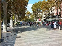 La Rambla Flaniermeile in Barcelona