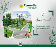 Take a look at some of these advancements in the township's environment to upgrade your harmonious lifestyle! #CamellaMegaSouth #AlwaysAFavorite #FourDecadeFavorite Environment, Community, Posts, Lifestyle, Green, Blog, Messages