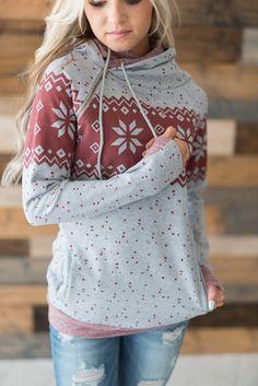 DoubleHood™ Sweatshirt - Snowfall