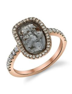 Diamond with natural inclusions. Super duper cool.