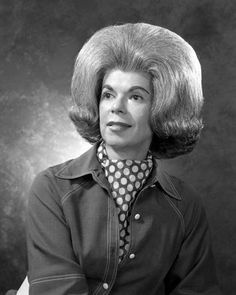 Gladys Saint-Vincent. The first woman to have her hair declared a National Monument.