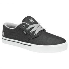 Etnies Jameson 2 Eco black grey black chambray chaussures de skateboard 75,00 € #etnies #etniesshoes #etniesfootwear #skateshoes #skateshoe #skate #skateboard #skateboarding #streetshop #skateshop @PLAY Skateshop