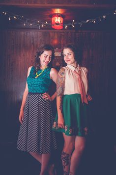 What are these vintage vixens up to? Find out on the blog now! #minxonline #vintage #pinspiration