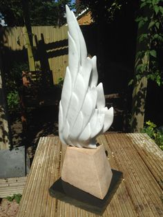 Wings, marble Private collection