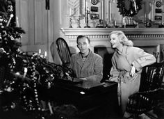 """""""Holiday Inn"""" is a 1942 American musical film directed by Mark Sandrich and starring Bing Crosby and Fred Astaire Top Christmas Movies, White Christmas Movie, Best Holiday Movies, Christmas Past, Vintage Christmas, Favorite Holiday, Christmas Classics, Christmas Music, Christmas Ideas"""
