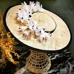 Piqueres and Rooy millinery Basic Colors, Bloom, Beige, Table Decorations, Instagram Posts, Headpieces, Colour, Home Decor, Hats