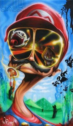 Fear and shrooming in the mushroom kingdom by Rask by rAskopticon.deviantart.com on @DeviantArt