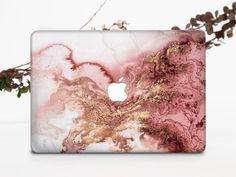 Marble Macbook Case, Marble Case, Macbook Pro Case, Pink Marble, Macbook Air 13 Cover, Apple Laptop, Leather Texture, Design Case, Beautiful Textures
