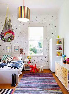 Sneak Peek! February Issue of Inside Out Magazine | Poppytalk Funky Bedroom, Girls Bedroom, Bedroom Decor, Bedroom Ideas, Trendy Bedroom, Bedroom Fun, Pastel Bedroom, Design Bedroom, Bedroom Lighting