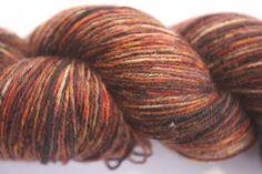 Sock - 100% British Bluefaced Leicester (superwash) yarn (BR129) by OxfordKitchenYarns