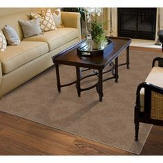 Charleston Cut-and-Loop Patterned Olefin Area Rug
