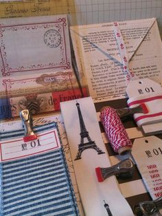 Traditional French Art Inspiration Kit ... vintage by vintage1955