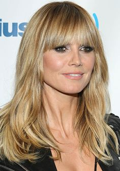 Heidi Klum - dimensional Sandy Blonde hair