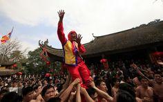 The Dong Ky firecracker festival