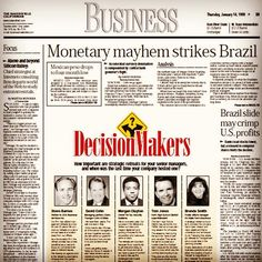 #TBT from 1999. CCS' David Cohn gives some business advice in The #Bakersfield Californian.