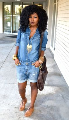 images with jeans Curvy Girl Fashion, Cute Fashion, Fashion Outfits, Short Outfits, Stylish Outfits, Summer Outfits, Mode Shorts, Denim Shorts, Demin Outfit