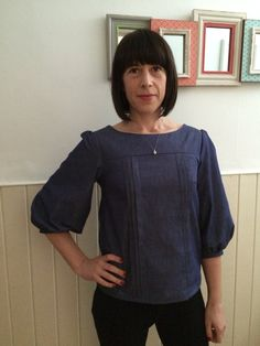 Mathilda blouse completed