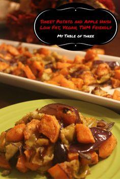 Sweet Potato and Apple Hash (Low Fat, Vegan, THM Friendly)