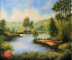 Küste Landschaft Original Öl Malerei Gemälde Kunstmalerei handgemalt Ölbild Bild
