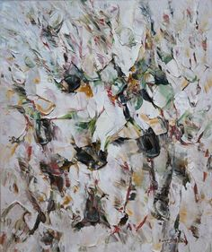 Paul-Emile Borduas, 'Patte de velours' 1955 oil on canvas 36 x 30 inches at Art Toronto Mayberry Fine Art booth A49